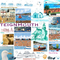 11SAP Teignmouth Multi Print
